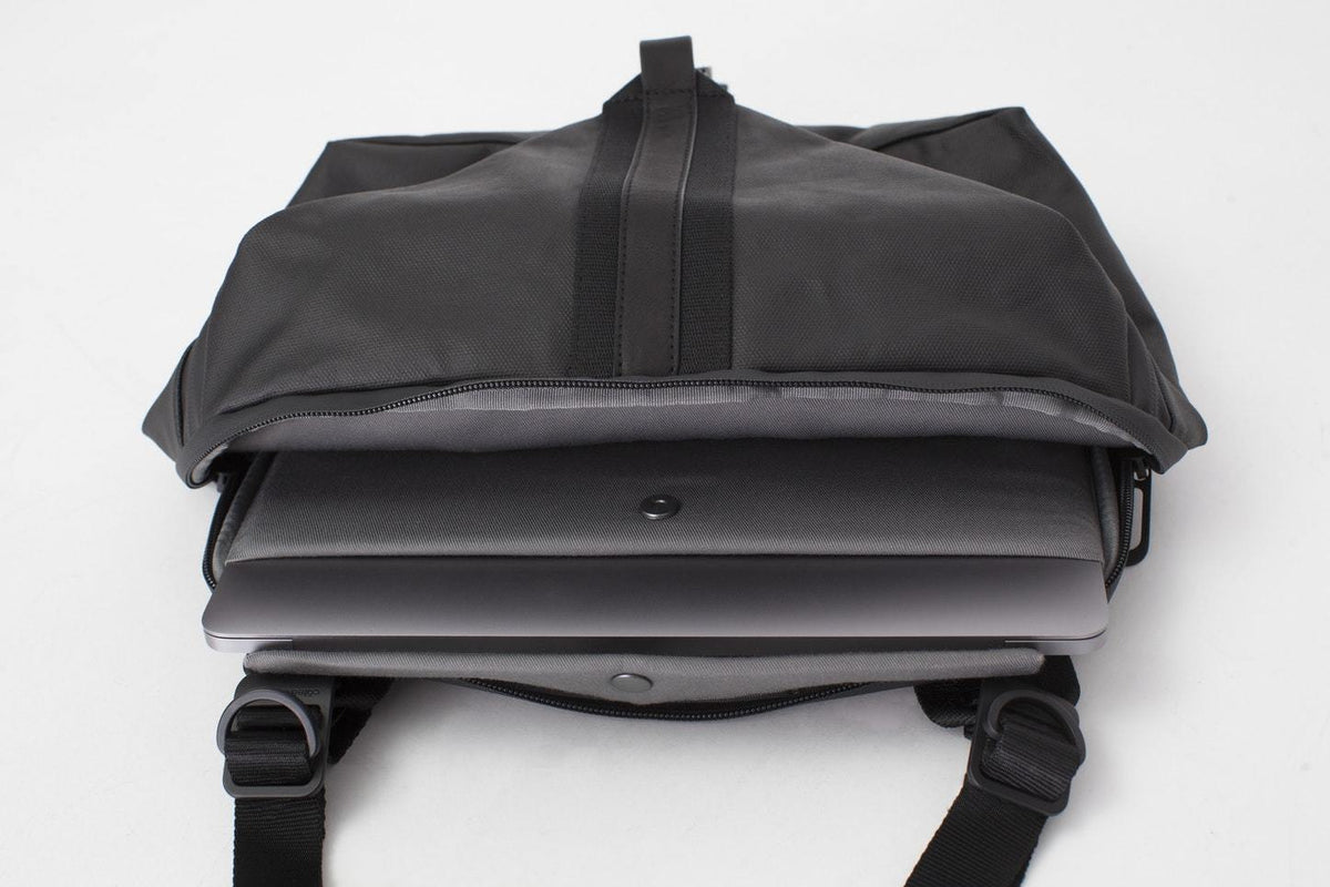 Yakima Coated Canvas Black Backpack