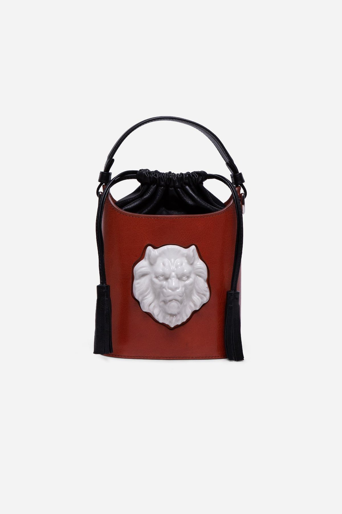 Bombonera Lion Bag - Brandy