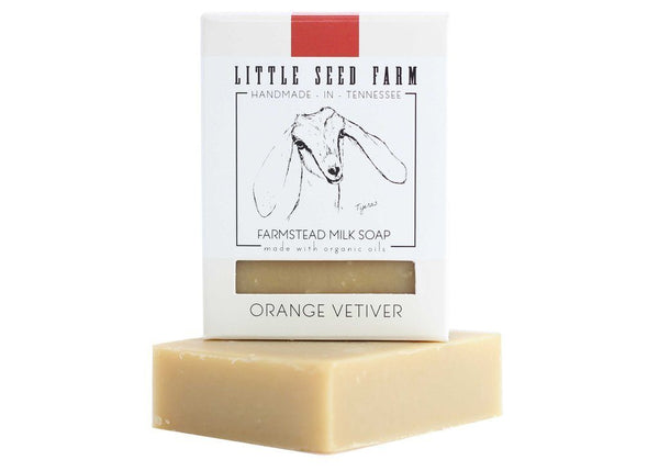 Orange Vetiver Soap Bar Soap Little Seed Farm - der ZEITGEIST