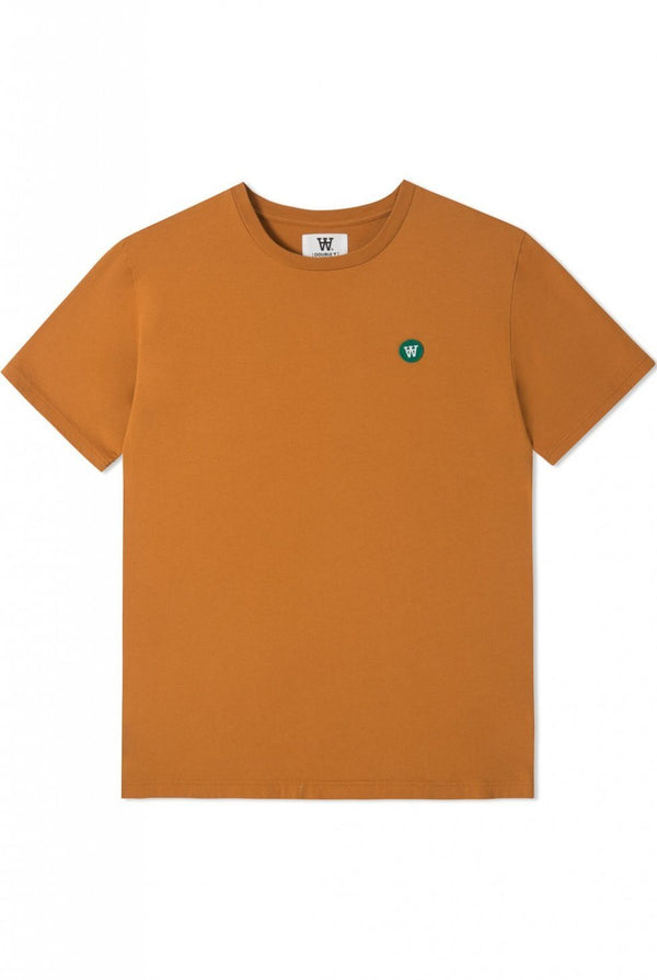Ace T-Shirt Dark Orange T-Shirt Wood Wood - der ZEITGEIST