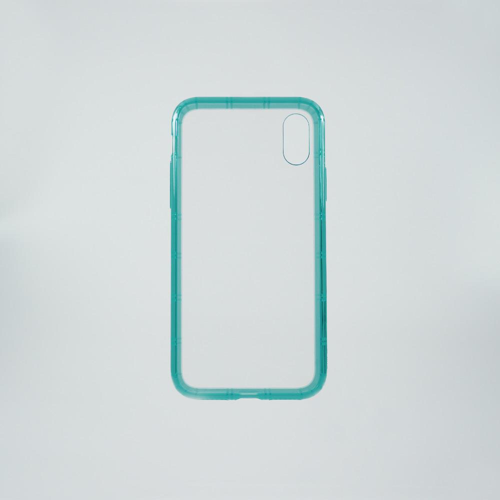 Airshock Bumper iPhone X & XS Case: Caribbean Blue
