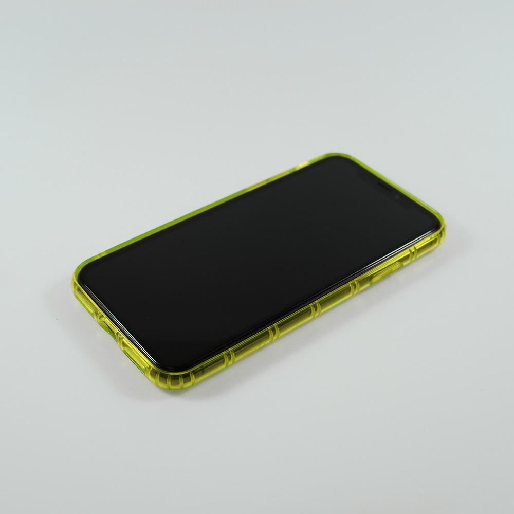 Airshock Bumper iPhone X & XS Case: Frozen Lemonade Yellow