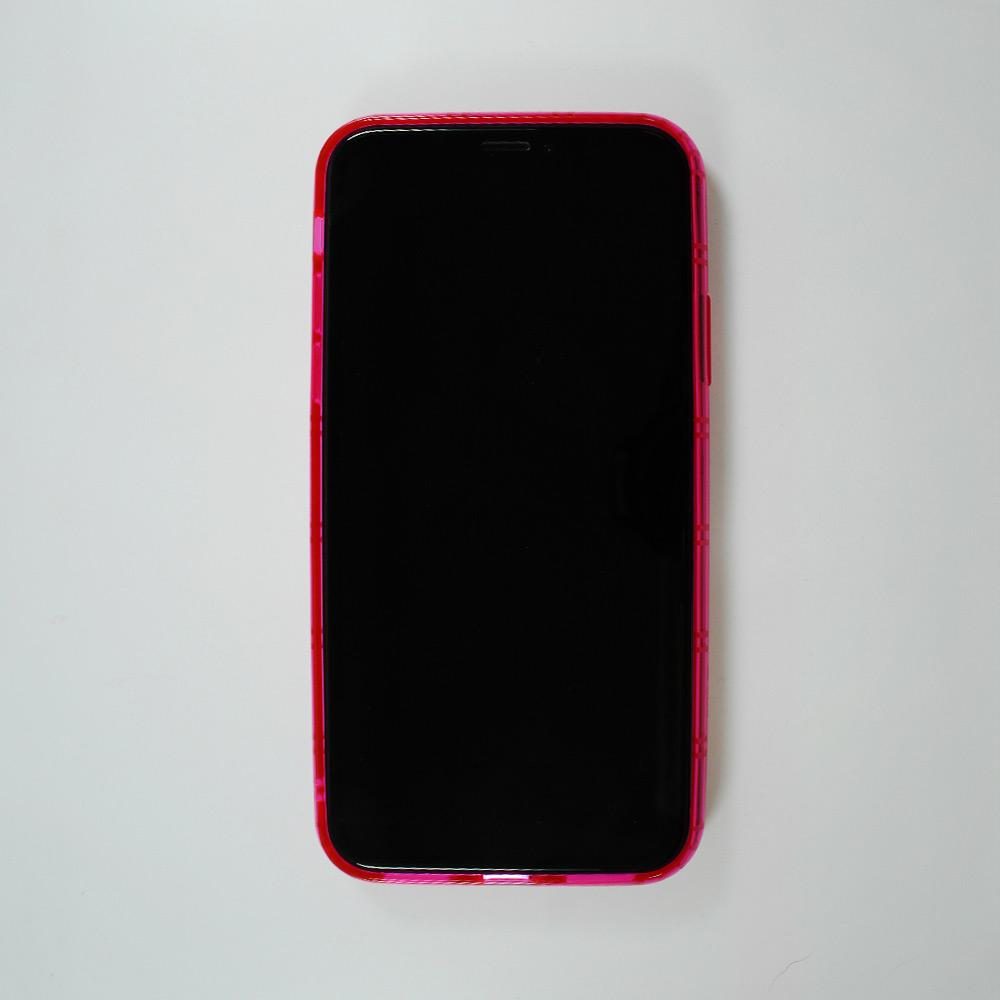 Airshock Bumper iPhone X & XS Case: Hot Pink
