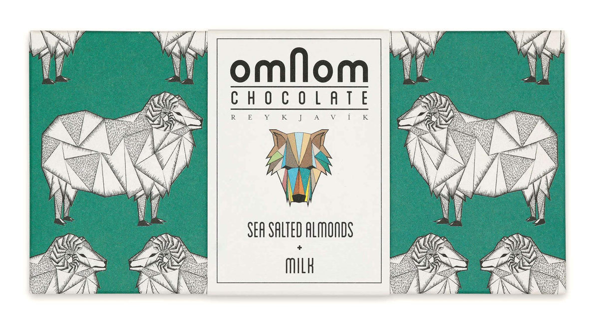Sea Salted Almonds & Milk Chocolate