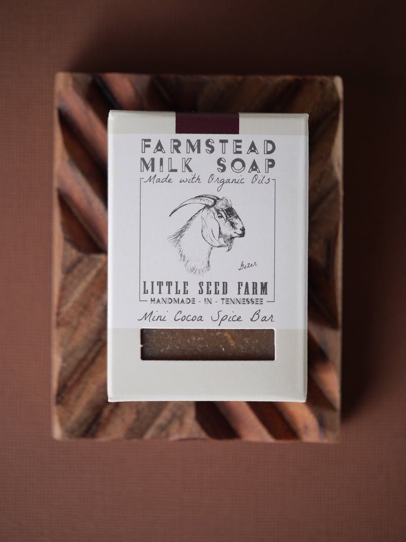 Cocoa Spice Soap Bar Soap Little Seed Farm - der ZEITGEIST