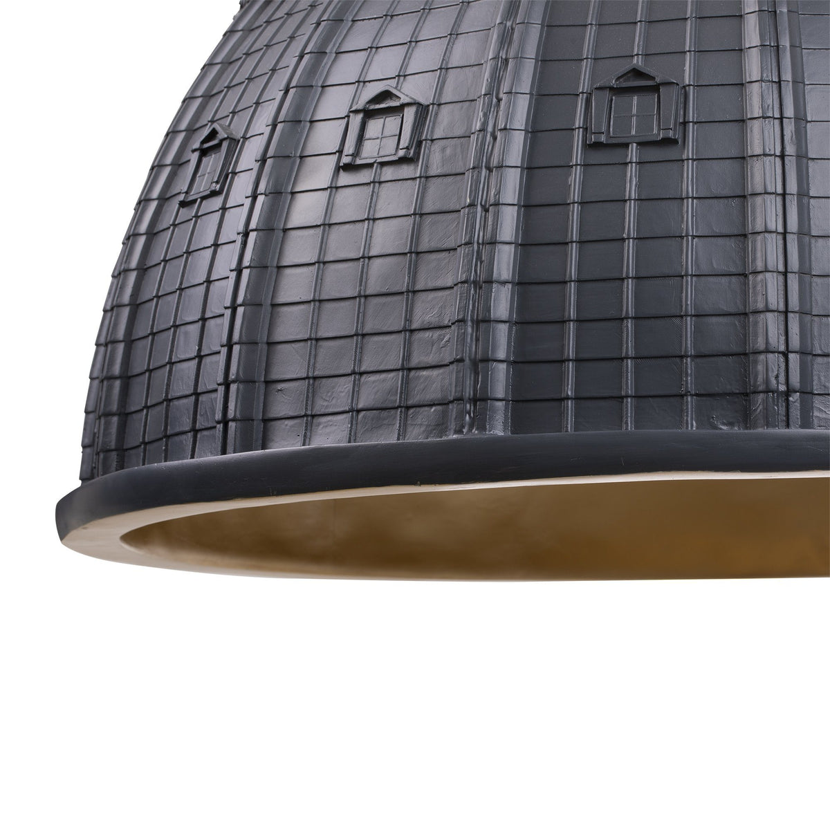 Cupolone Grey Ceiling Light