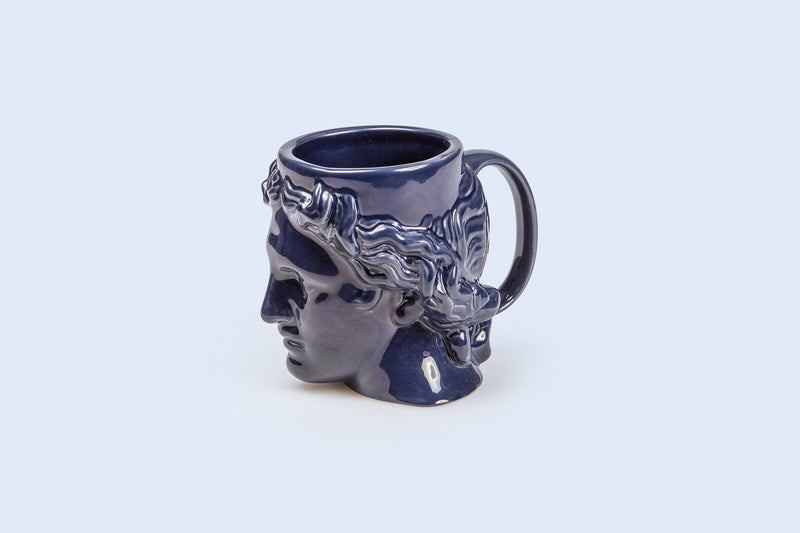 Hestia: Apollo Ceramic Mug (Blue)
