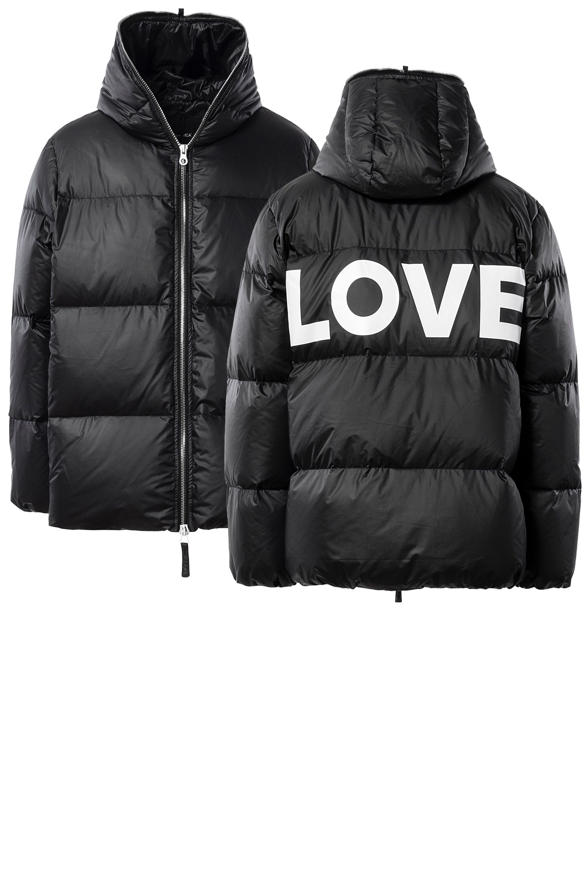 DIONISIO Unisex Oversized Down Jacket