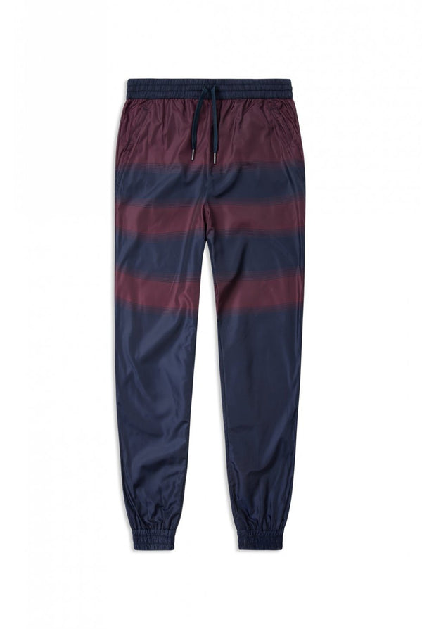 Elliot Trousers Navy Stripe Pants Wood Wood - der ZEITGEIST