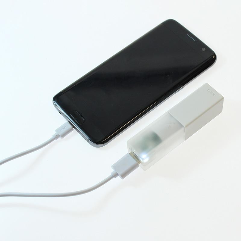 Travel Smartphone Power Bank: White