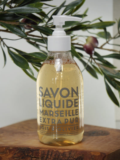 Olive Wood Liquid Soap Body & Hand Wash 300ml Liquid Soap Compagnie de Provence - der ZEITGEIST