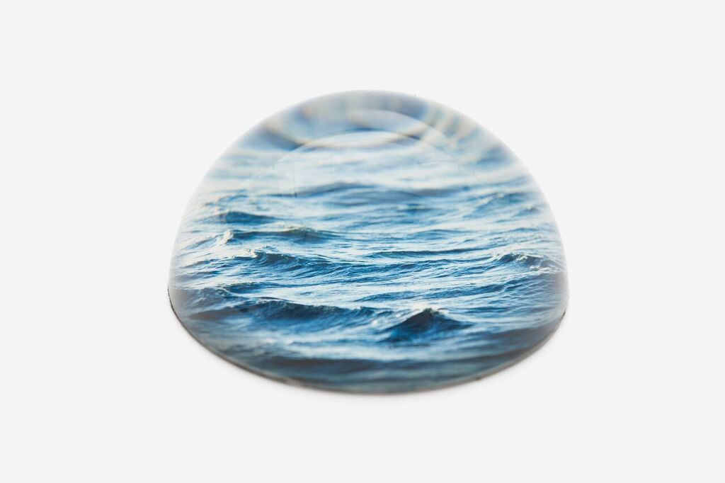 Memento Mori Glass Paperweight - Sea  The School Of Life - der ZEITGEIST