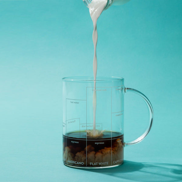 Multi-ccino Borosilicate Glass Mug Kitchen Supplies MoMA - der ZEITGEIST
