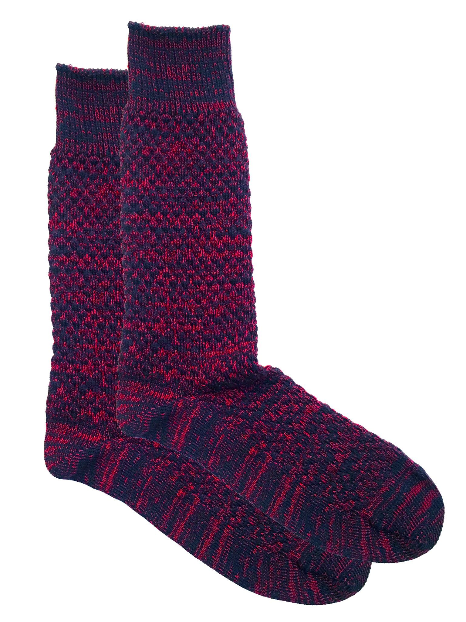 Oscar Sock Navy/Red Sock MP Crafted Garments - der ZEITGEIST