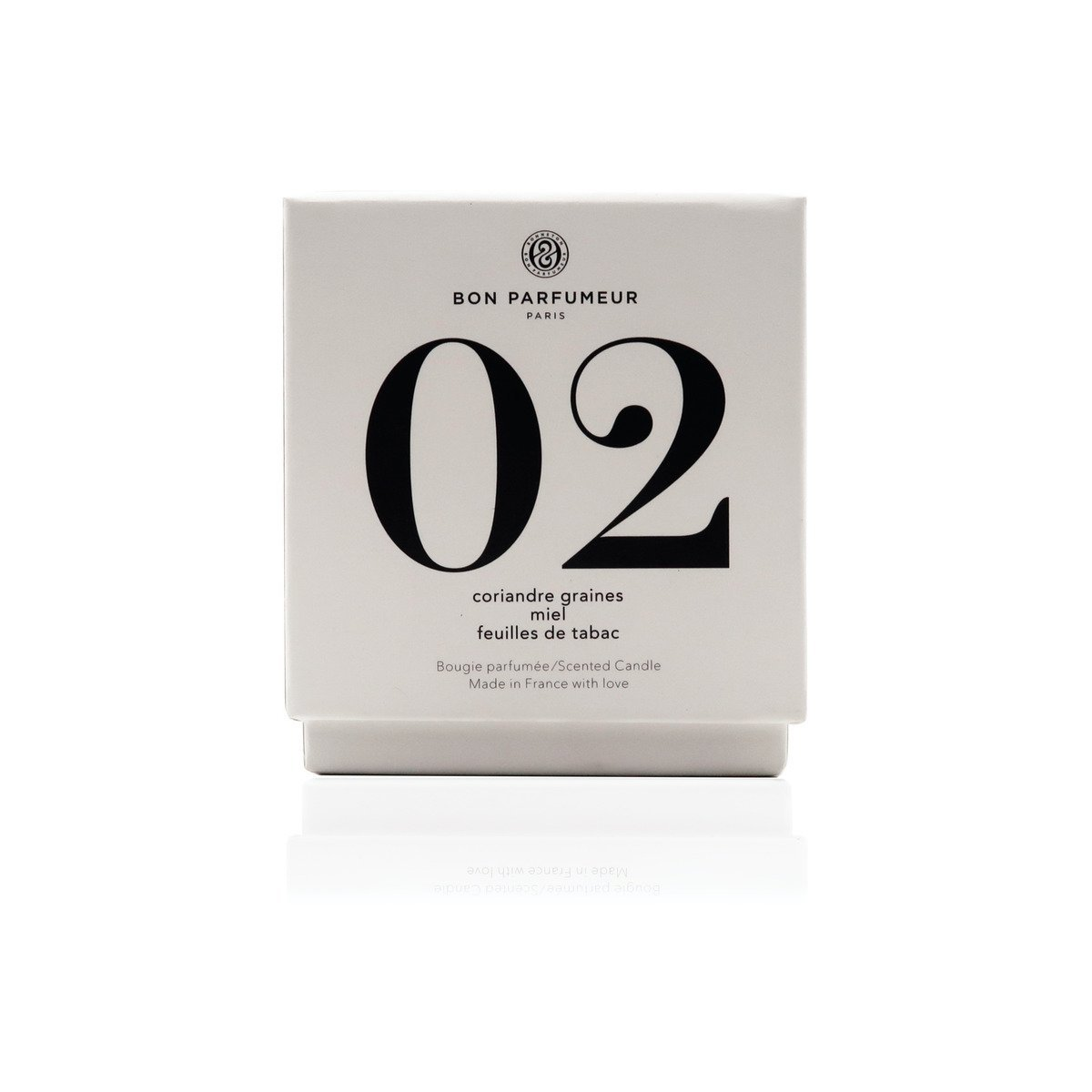 Candle 02: Coriander Seed | Honey | Tobacco Leaf