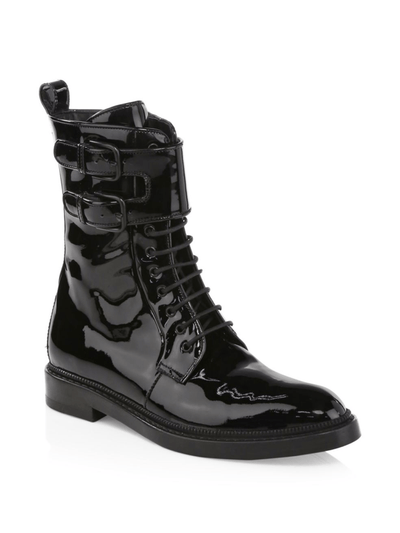 Landrey: Patent Leather Boots in Black Shoes Paul Andrew - der ZEITGEIST