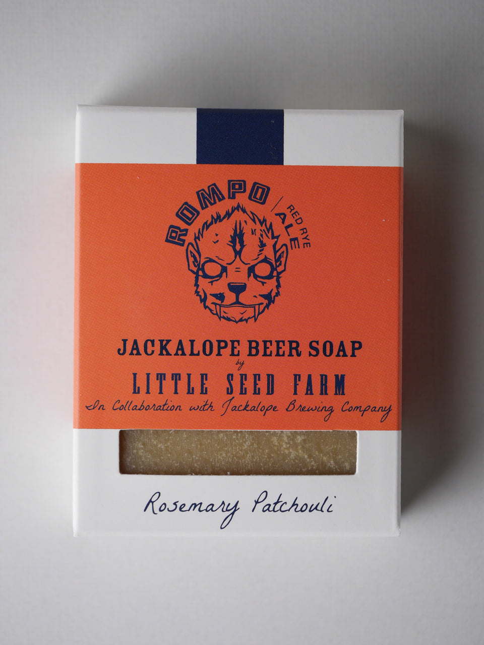 Rompo Beer Soap Bar (Rosemary Patchouli) Soap Little Seed Farm - der ZEITGEIST