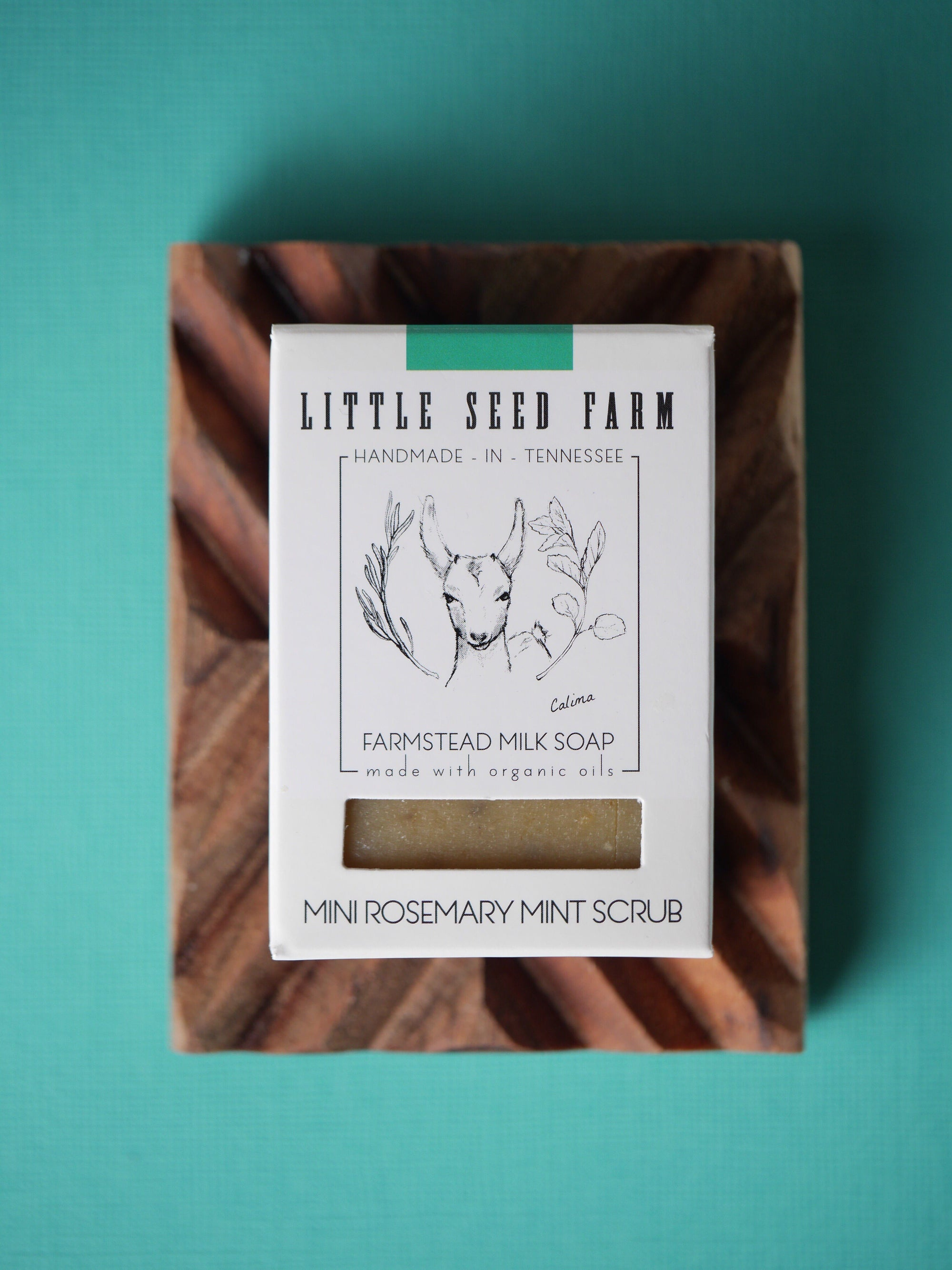 Rosemary Mint Soap Bar Soap Little Seed Farm - der ZEITGEIST