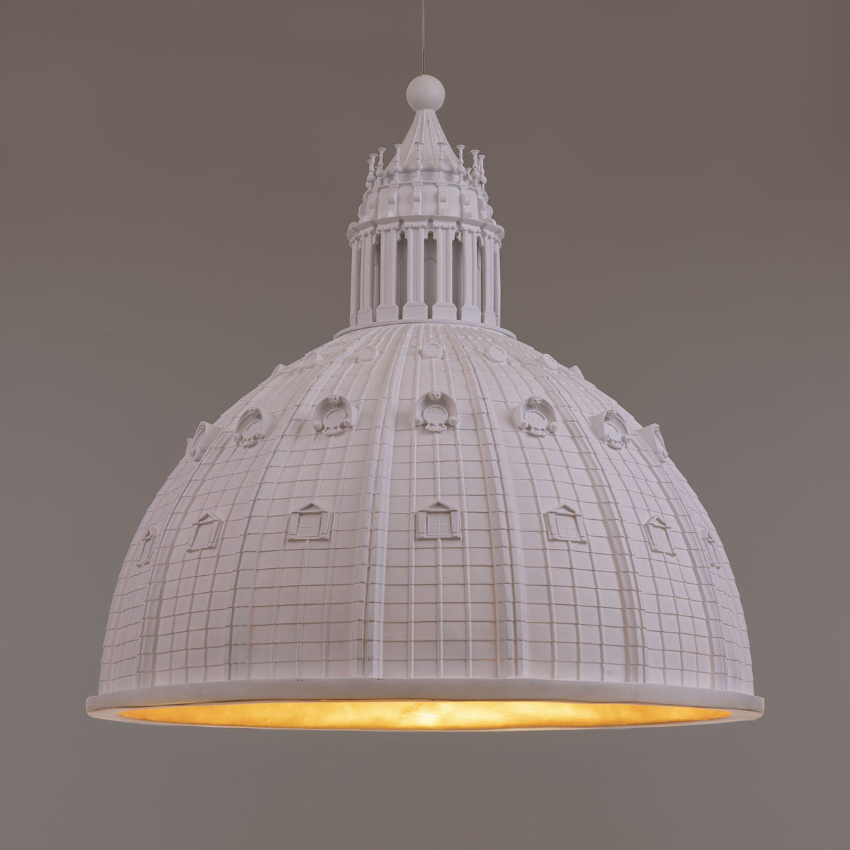 Cupolone White Ceiling Light