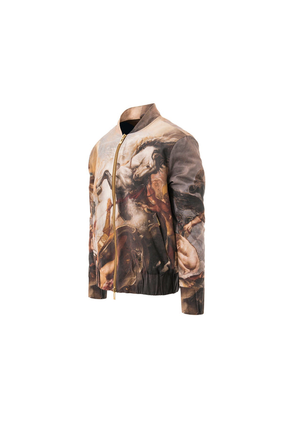 Signature Painting Bomber Jacket