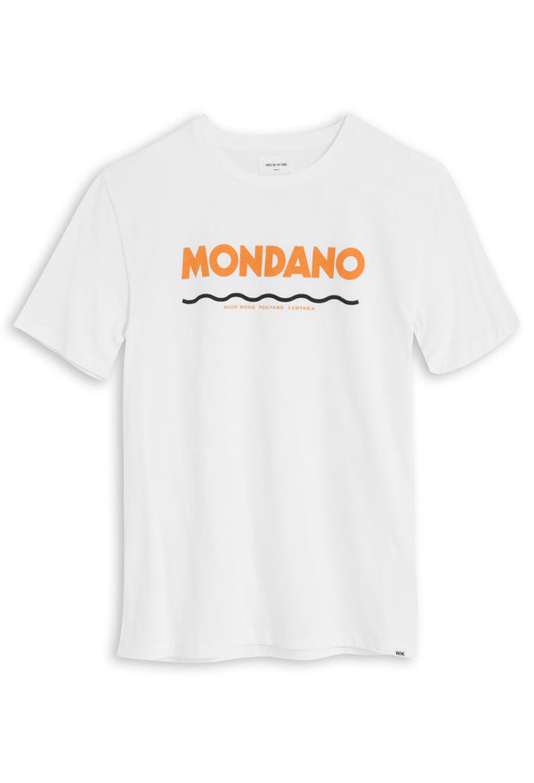 Mondano T-Shirt Bright White T-Shirt Wood Wood - der ZEITGEIST