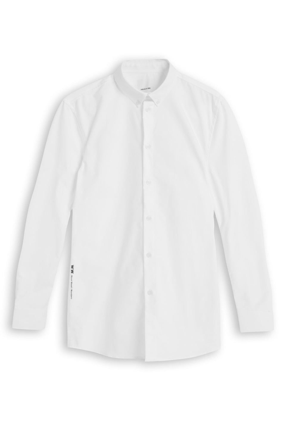 Timothy Shirt Bright White Shirt Wood Wood - der ZEITGEIST