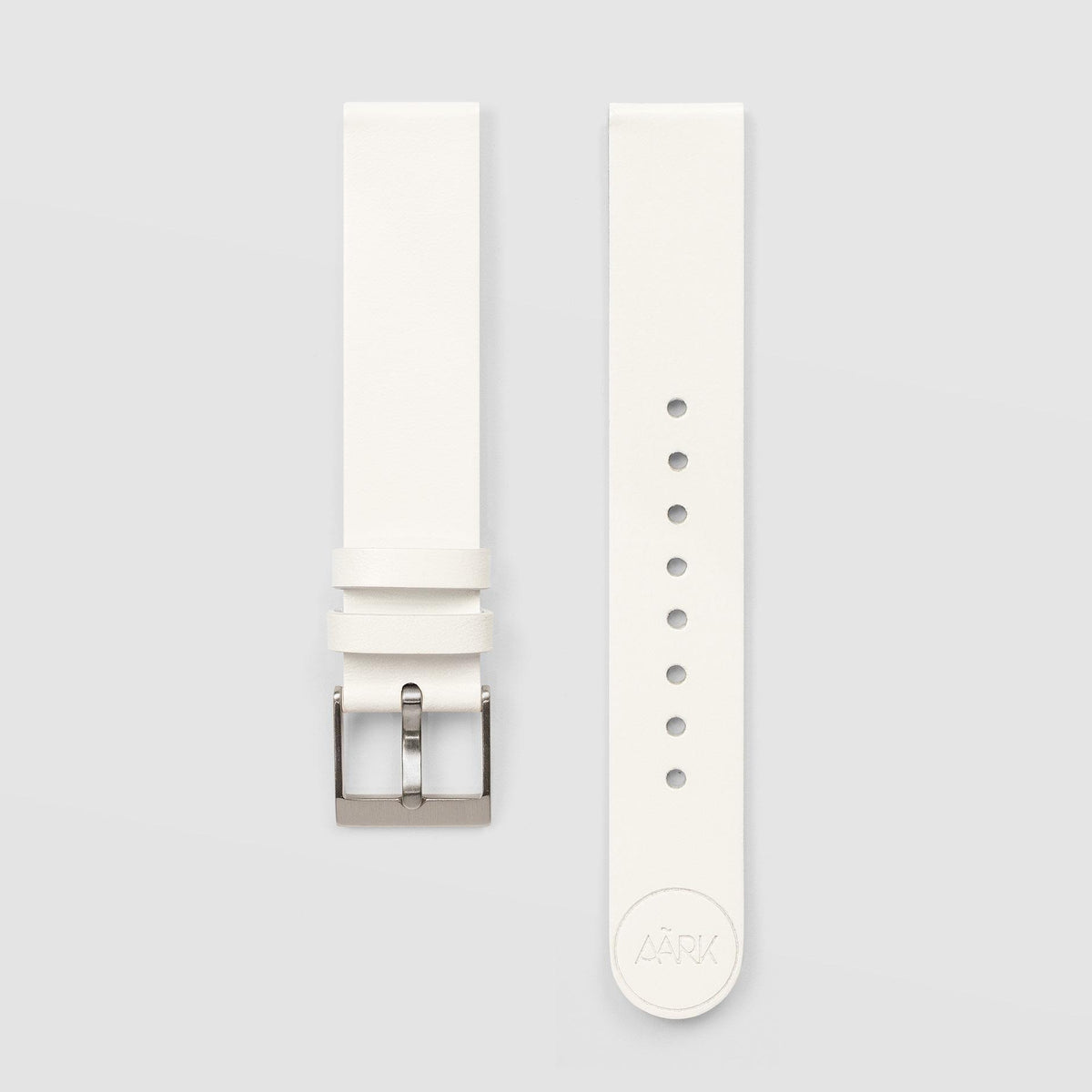 White Watch Strap 18mm