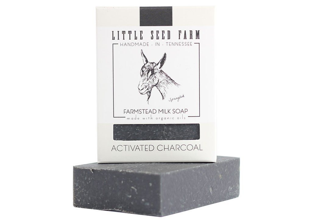 Activated Charcoal Soap Bar Soap Little Seed Farm - der ZEITGEIST