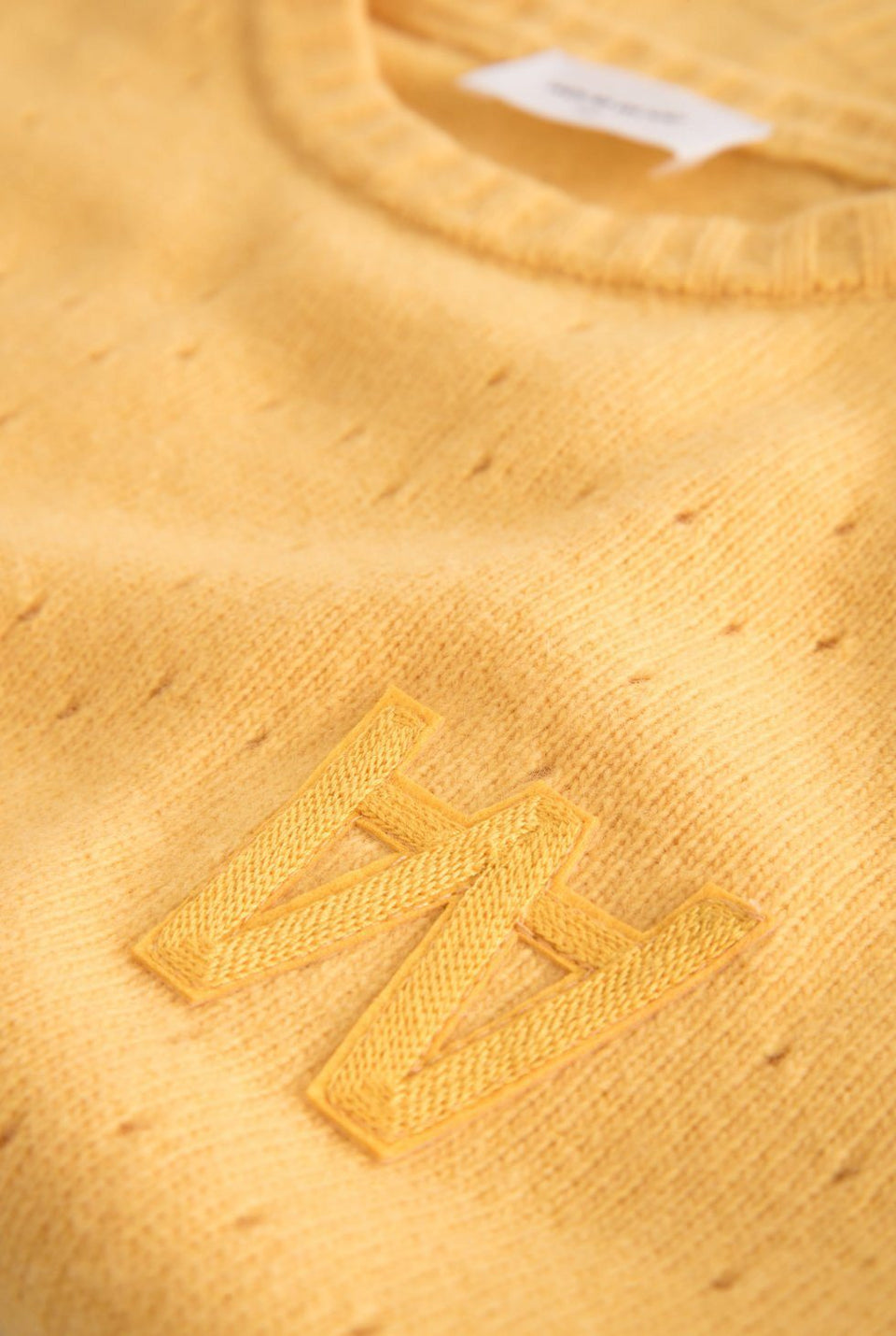 Caitlin Sweater Yellow Sweater Wood Wood - der ZEITGEIST