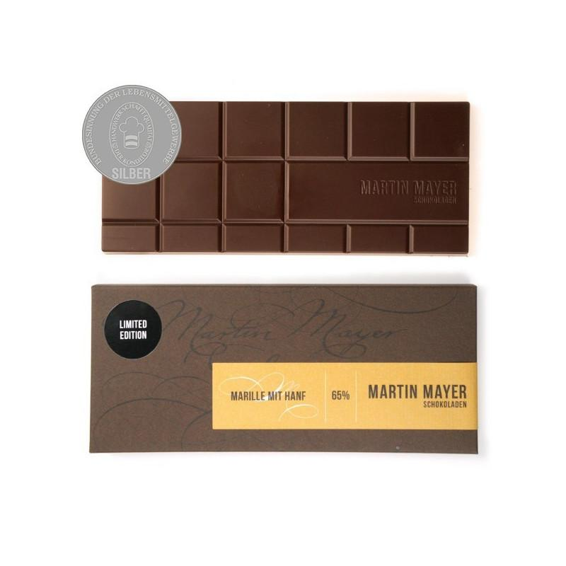 Apricot & Hemp Seed 65% Dark-Milk Chocolate