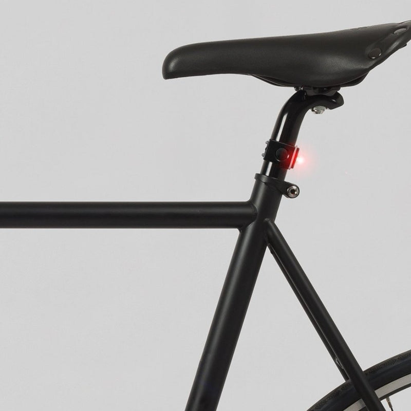 USB Front and Back Bike Light: Black Bicycle Light Bookman - der ZEITGEIST