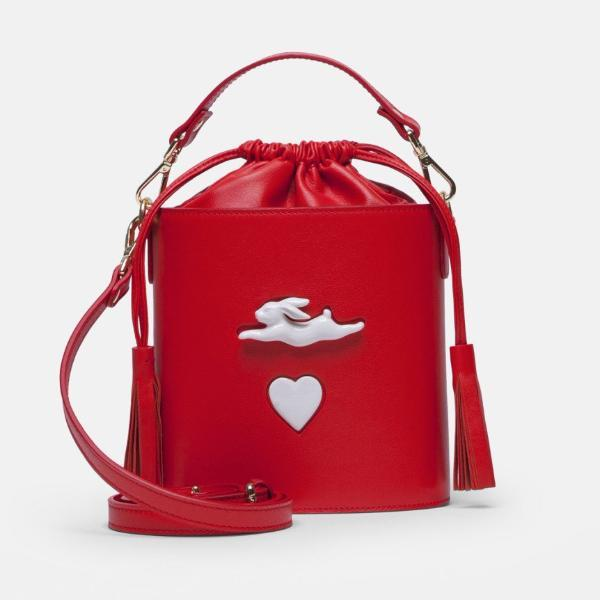 Bombonera Rabbit Heart Red Handbag Andres Gallardo - der ZEITGEIST