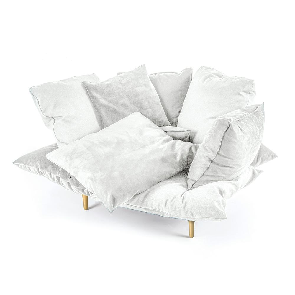 Comfy Armchair White
