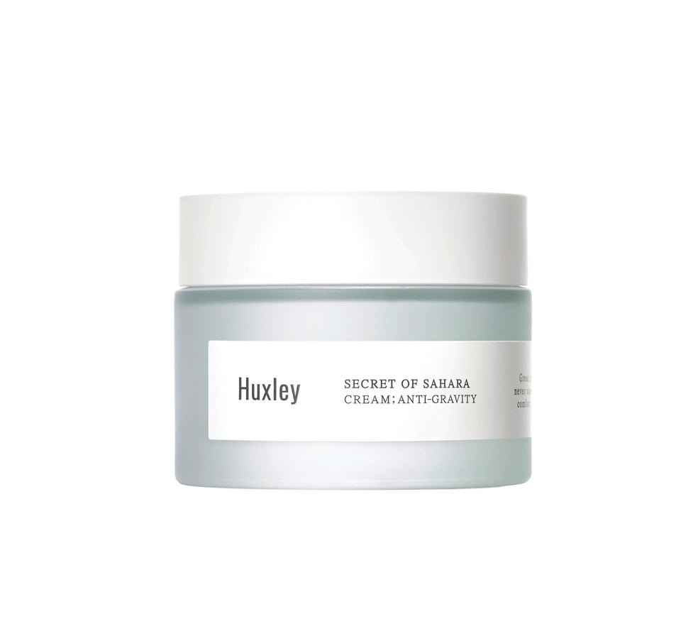 Cream ; Anti Gravity Face Cream Huxley - der ZEITGEIST