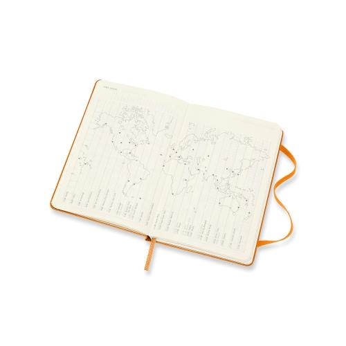 12-Month Weekly Pocket Notebook Planner 2021 - Orange