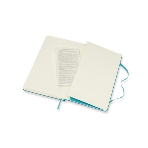 Classic Large Lined Notebook - Reef Blue