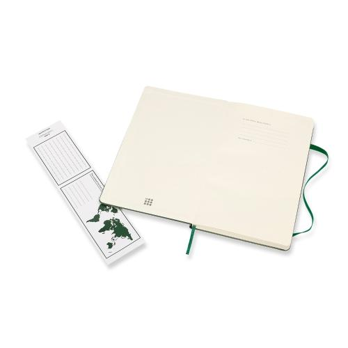 Classic Large Lined Notebook - Myrtle Green