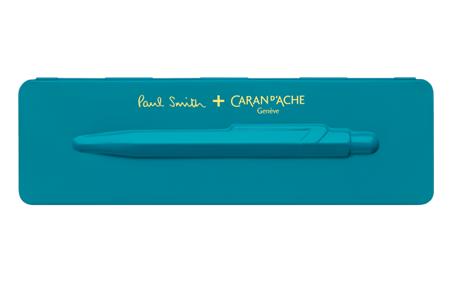849 Paul Smith Ballpoint Pen - Peacock Blue (Limited Edition)