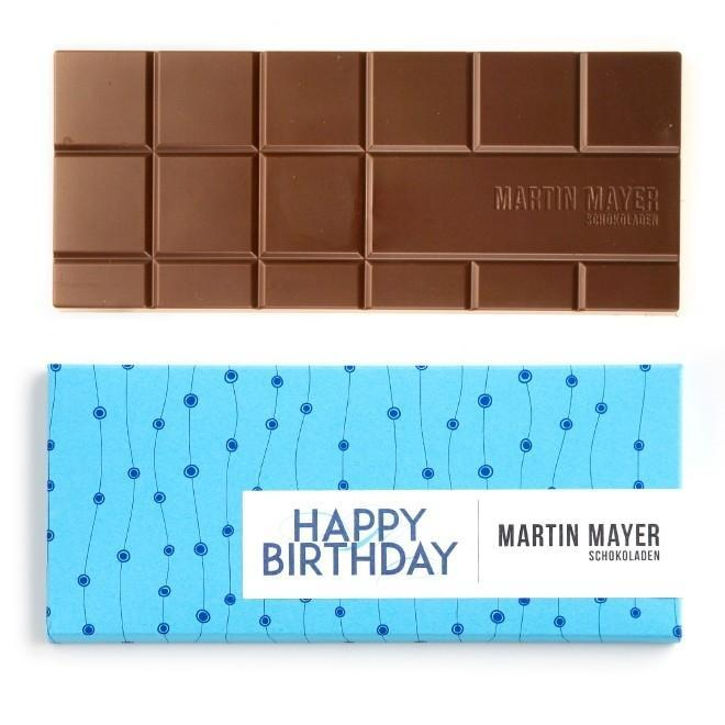 """Happy Birthday"" 45% Milk Chocolate"
