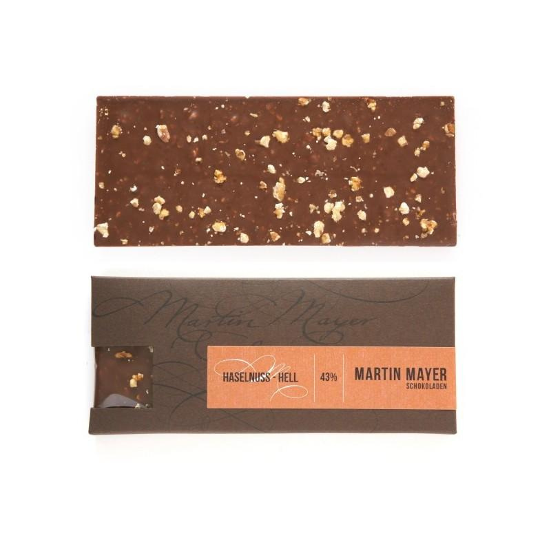 Hazelnut 43% Milk Chocolate