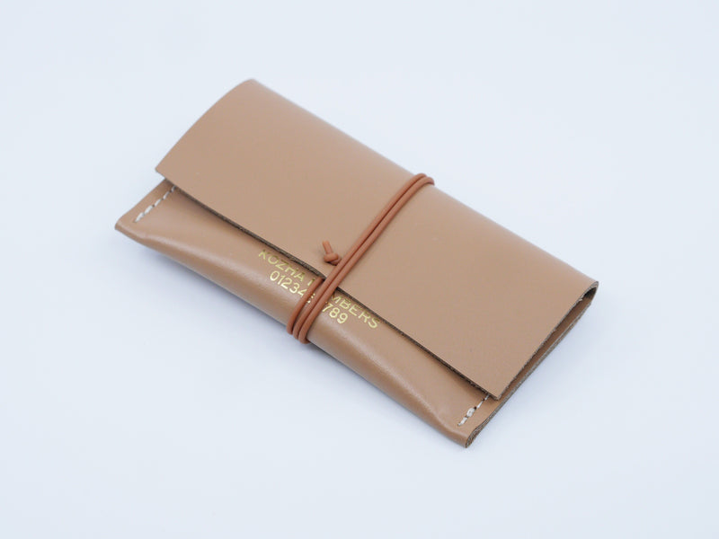 The Cardlet Nude Wallet Kozha Numbers - der ZEITGEIST