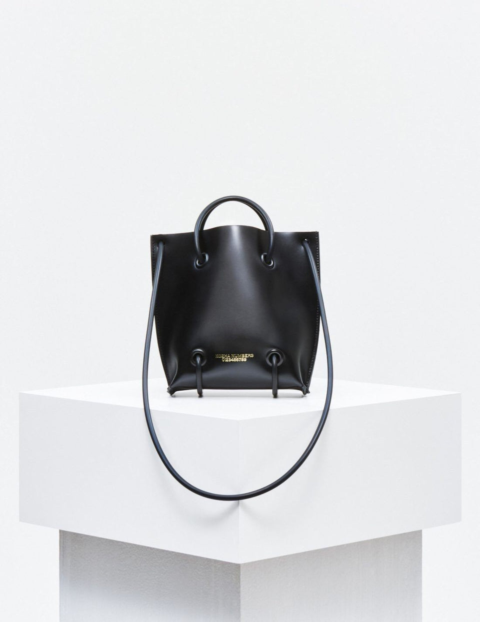 The Utility: Black Handbag Kozha Numbers - der ZEITGEIST