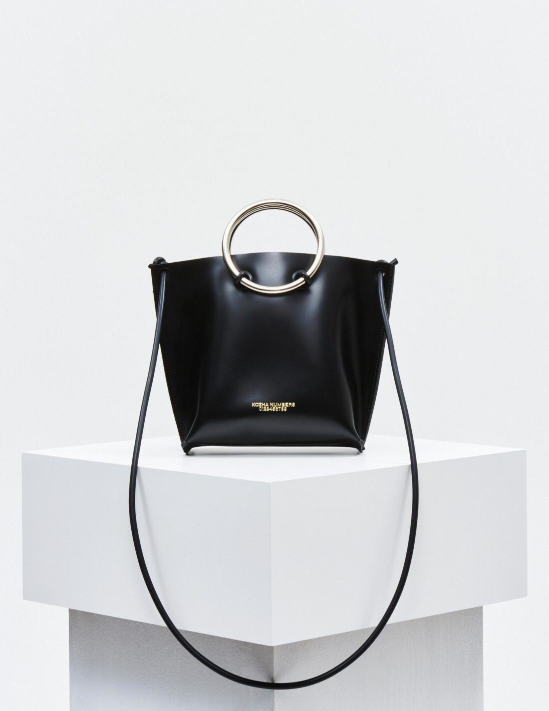 The Mini Safe with Strap Handbag Kozha Numbers - der ZEITGEIST