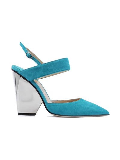 Pawson: Suede Pump Aqua Shoes Paul Andrew - der ZEITGEIST