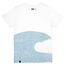 Stockholm: Word Wave T-Shirt DEDICATED - der ZEITGEIST