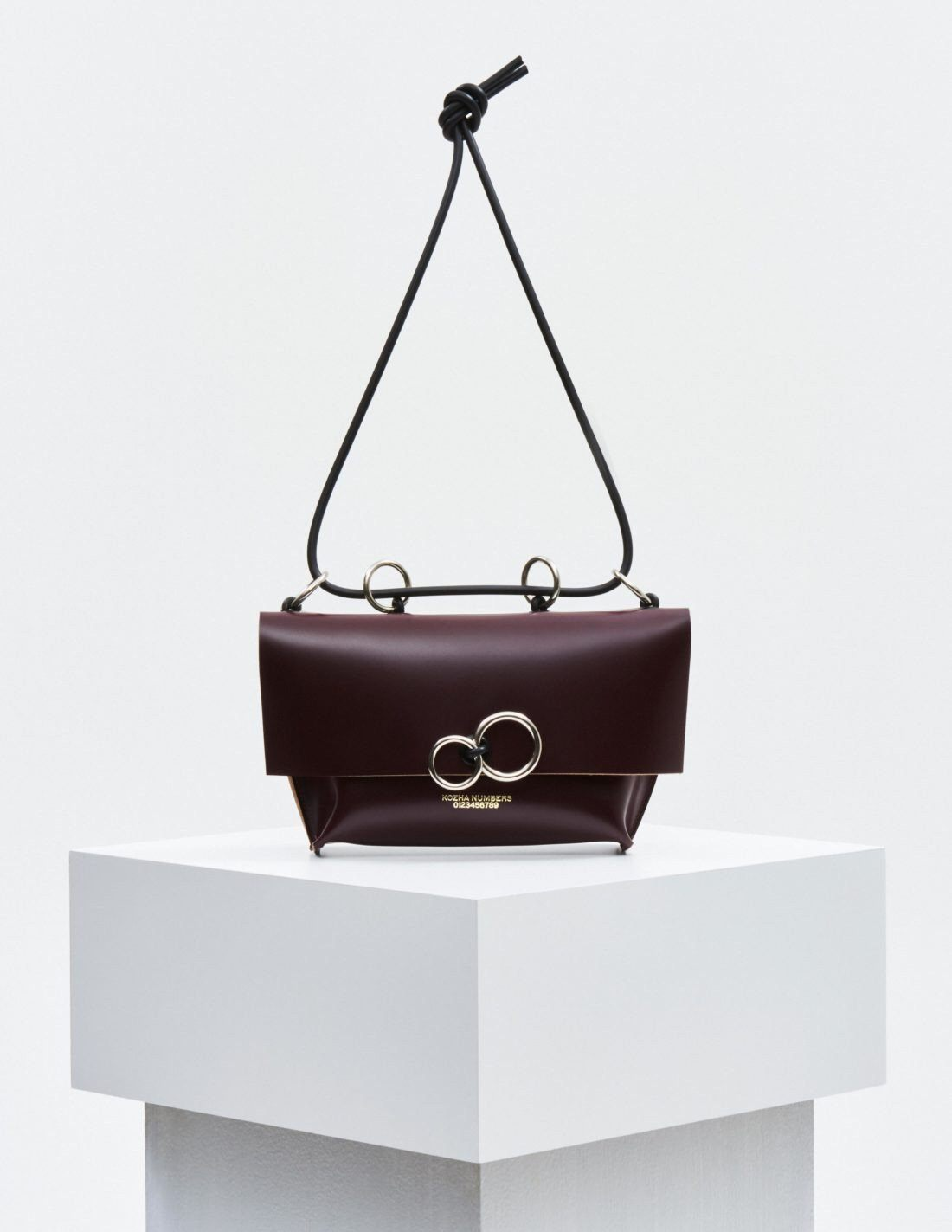 The Orbit: Burgundy (Limited Edition) Handbag Kozha Numbers - der ZEITGEIST