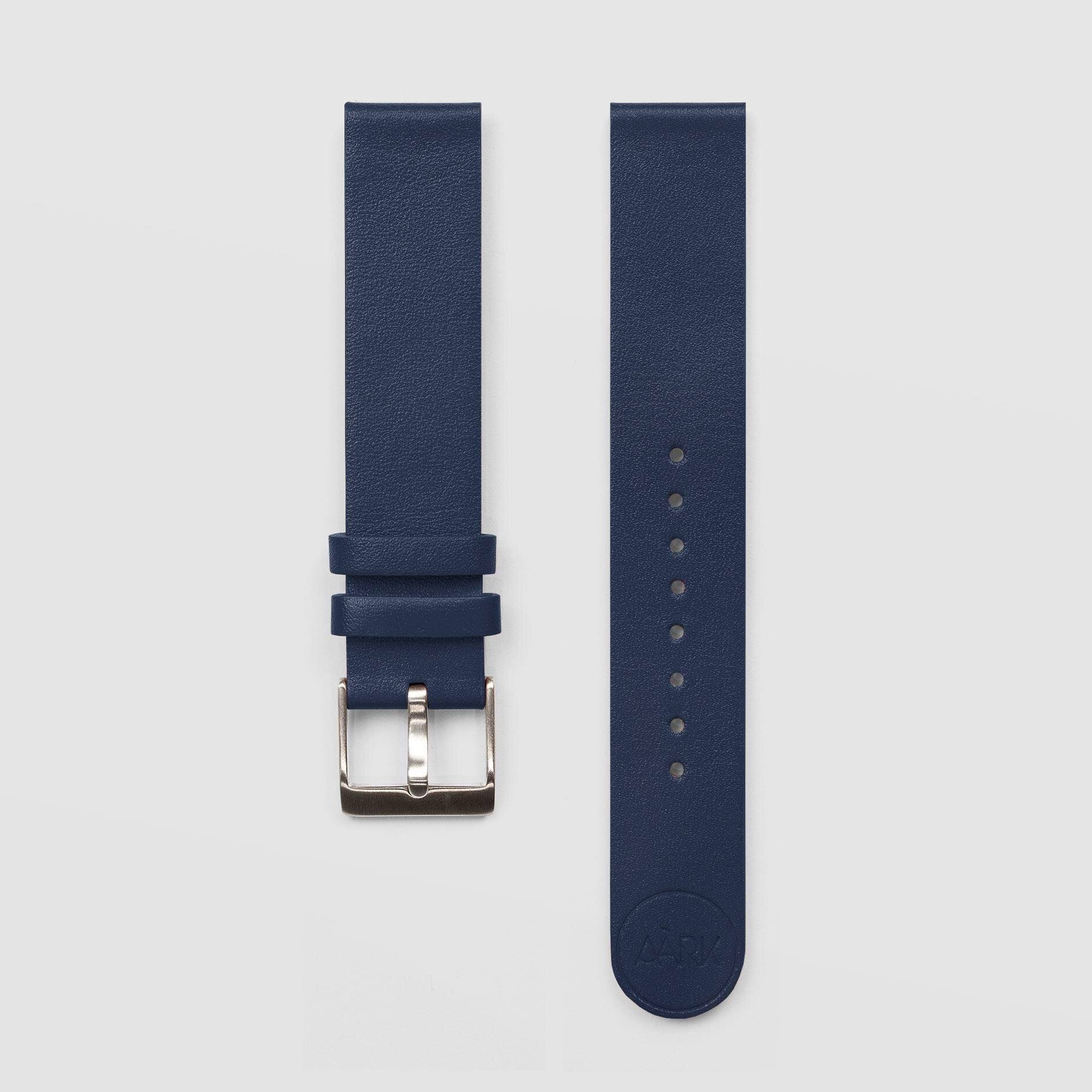 Navy Watch Strap 18mm Watch Strap AÃRK Collective - der ZEITGEIST