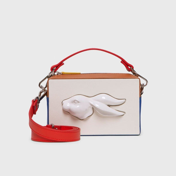 Rectanglular Rabbit Head Multicolour Handbag Handbag Andres Gallardo - der ZEITGEIST