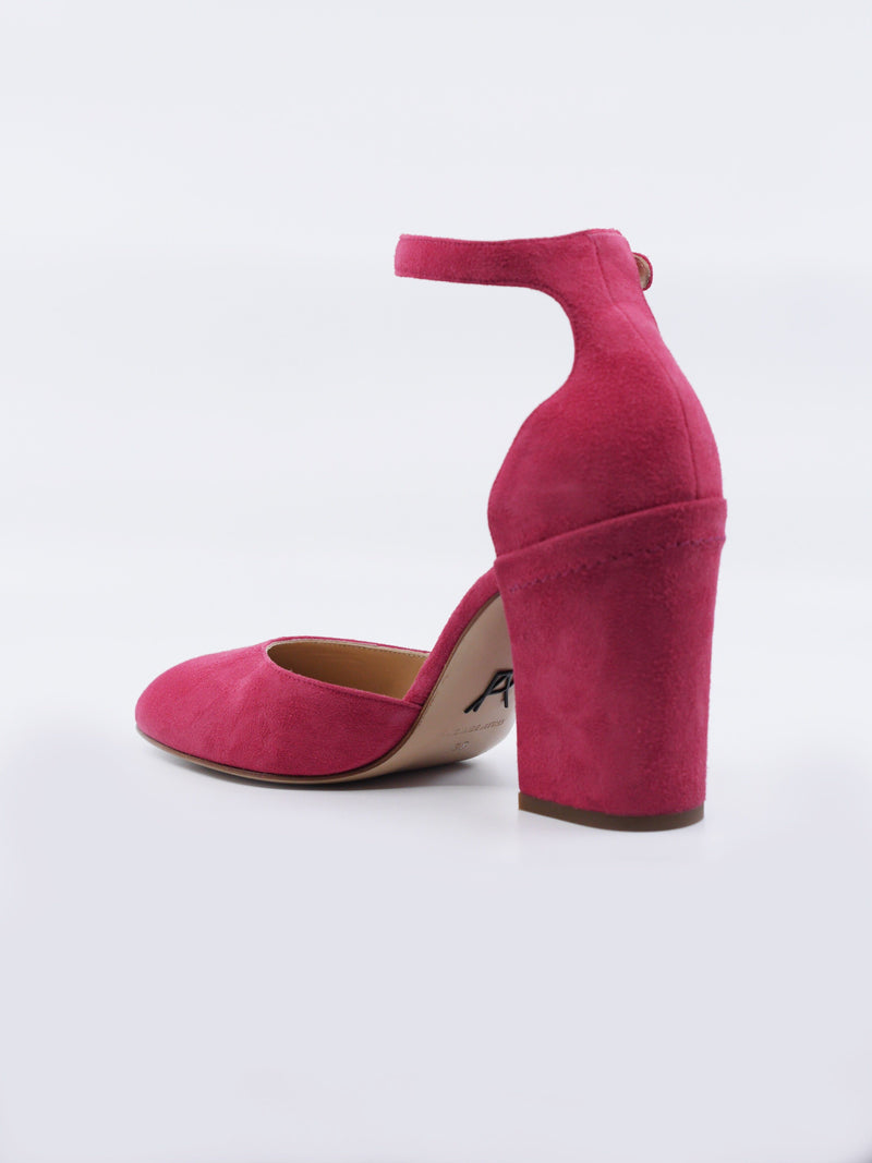 Bastioni: Suede Block Heel Pumps Lilium Shoes Paul Andrew - der ZEITGEIST