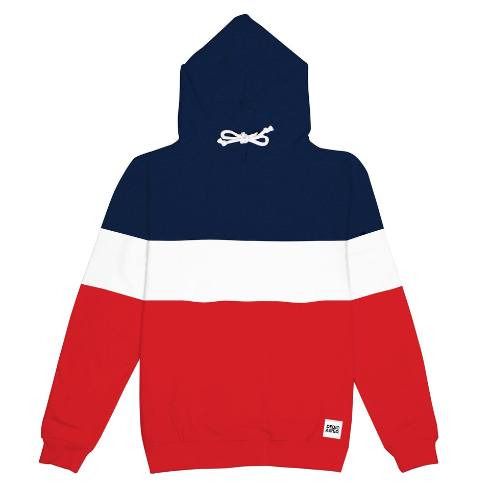 Falun Stripe Red Hoodie Hoodie DEDICATED - der ZEITGEIST
